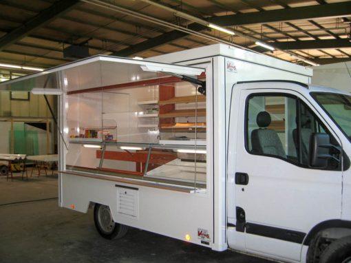 Backwaren-Touren-Verkaufsmobil