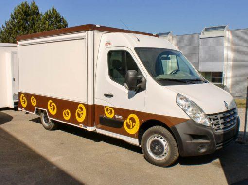 Backwarenmobil kompakt & wendig