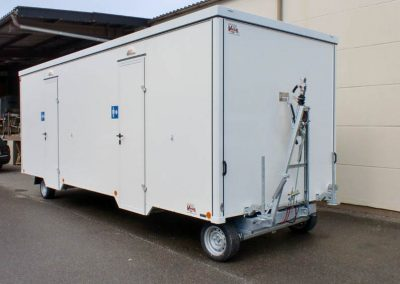 WCA 700 Toilettenanhänger