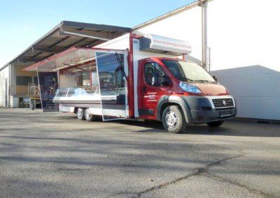 Marktverkaufsmobil Kühltheke 3-Achser