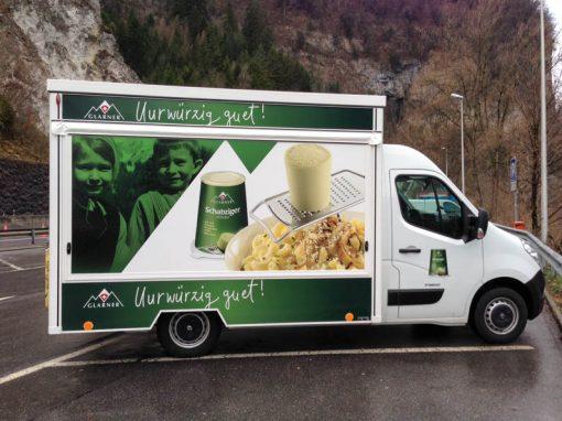 Promotion- & Marktmobil für das älteste Markenprodukt der Schweiz