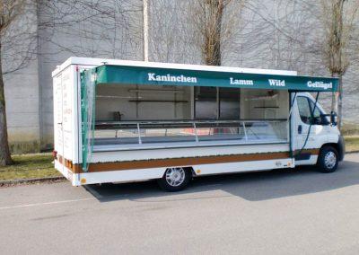 Kühlthekenmobil mit absenkbarem Fahrwerk