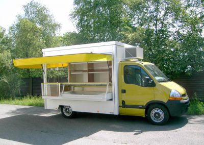 Touren-Verkaufsmobil mit Kühltheke