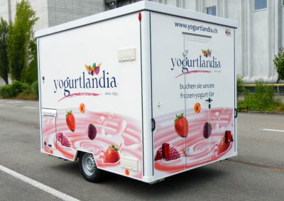 Frozen-Yogurt Anhänger