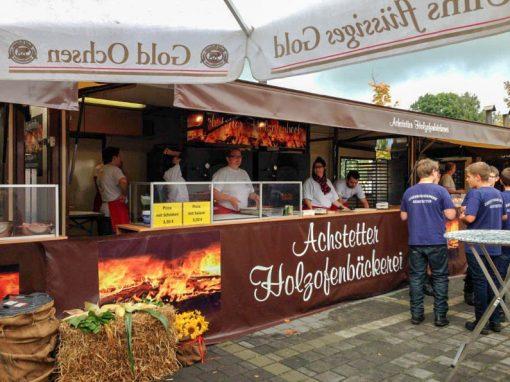 Holzofenbäckerei-Anhänger