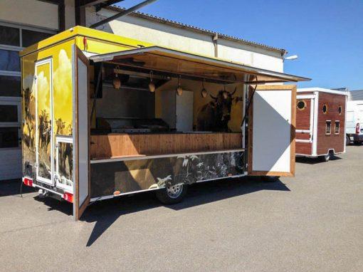 Imbissmobil – FoodTruck mit Gasgenerator