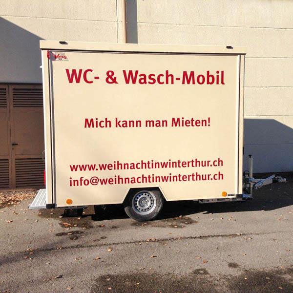 Mobiler Spülwagen